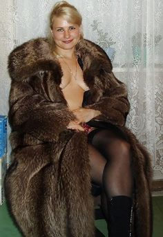 Fetish secret Fur coat