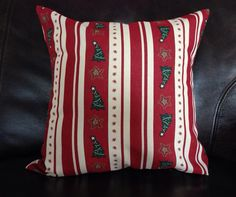 "16"" Christmas Pillow Cover by MunchkinsMakings on Etsy https://www.etsy.com/listing/169511562/16-christmas-pillow-cover"
