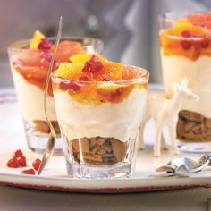 Zomers en feestelijk: Citrus-speculaastrifle #WeightWatchers #WWrecept