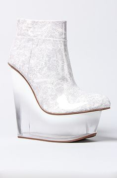 Jeffrey Campbell Shoe Icy in White : MissKL.com - Cutting Edge Women's Fashion, Accessories and Shoes.