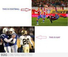 Football VS Football