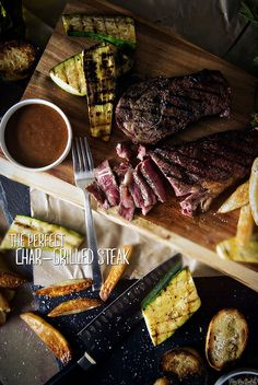 The Perfect Char-Grilled Steak    See this and other meaty recipes at GirlCarnivore.com