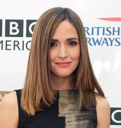 Midlength haircut idea: the easy-to-blow-out crop Some people are born with pin-straight hair, but this is the go-to haircut for any girl who has a long-term relationship with her flatiron (just remember to use heat protectant!)
