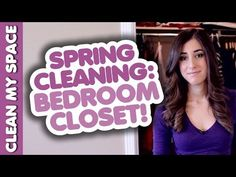 A simple, 4-step method to cleaning your bedroom closet.  no BS, just great info!  The video walks you through how to do it.