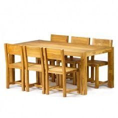 CG Sparks 7 Piece Reclaimed Teak Dining Set - o1288180003