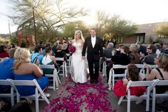 Desert Botanical Garden Wedding|Katie & David | Wedding Colors