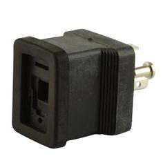 Square to Rectangle Adaptor Plug