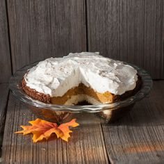ArtandtheKitchen: Pumpkin Cheesecake Pie