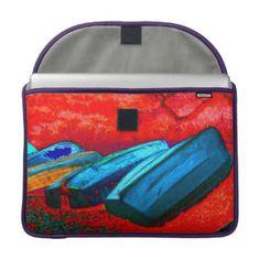 """Waiheke Island"" - Kennedy Point Dinghies Pop Art MacBook Pro Sleeves"