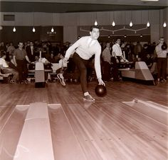 More bowling, 1960 England Arcadia Tom Stoppard, Fountain Square, Sock Hop, Print Button, Bowling, Looking Back, Jukebox, Blue Bird, Rockabilly