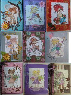 Några av mina kort / some of my cards