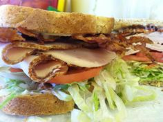 Monster Turkey Club Sandwich at Country Deli in Nags Head, NC :: Outer Banks
