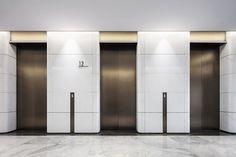 全球第三-CCD香港鄭中設計事務所 Lobby Interior, Interior Stairs, Hotel Internacional, Elevator Lobby Design, Zen House, Lift Design, Hospital Design, Office Interiors, House Design