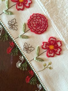 Needle Lace, Needlework, Elsa, Diy And Crafts, Embroidery, Deco, Flowers, Towels, Needlepoint