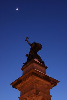 Reach for the moon at Highland Par by Melissa @ Pittsburgh Parks Conservancy, via Flickr