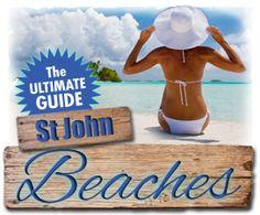St John Beach Guide - best snorkeling guide
