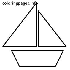 Boat Template Printable 437