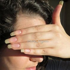 Want to know how to do gel nails at home? Learn the fundamentals with our DIY tutorial that will guide you step by step to professional salon quality nails. Long Natural Nails, Natural Acrylic Nails, Summer Acrylic Nails, Shellac Nails, Nude Nails, Nail Nail, Gel Nails At Home, Claw Nails, Sexy Nails