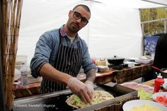 Your food will ready Sir. In Camden Market, London