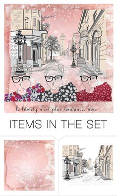 """Geen titel #26939"" by lizmuller ❤ liked on Polyvore featuring art"
