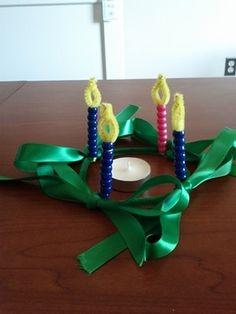 11 best kids advent wreath crafts images sunday school. Black Bedroom Furniture Sets. Home Design Ideas
