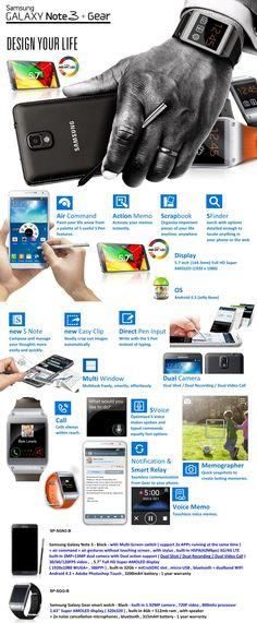 Samsung Note 3 + Gear