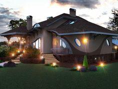 O casă de vis pentru fiecare zodie. Burlington House, Large Gazebo, Cabin Homes, Design Case, Beautiful Space, House Plans, Farmhouse, Exterior, Outdoor Structures