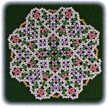 Spring Coaster Doily Pattern at Sova-Enterprises.com