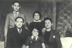 *Young girl at the center* Regine Daniel deported to Auschwitz on Dec. Innocent People, Losing A Child, 7 Year Olds, World War Ii, Wwii, Angels, Forget, Lost