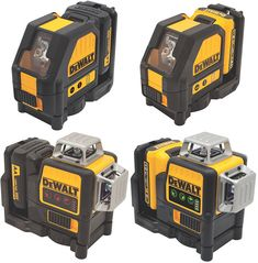 New Dewalt Line Lasers 2015