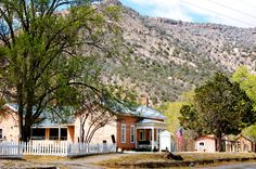 Lincoln New Mexico house next to the mountain. This and thousands of other high quality royalty-free digital photos are available for download from Refocus Photography - www.refocusphotography.com for only $5.00!