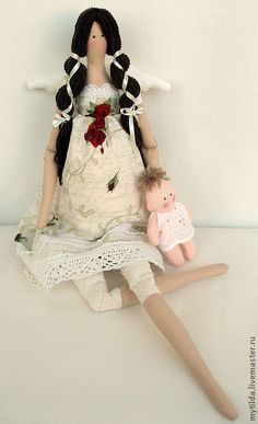 Куклы Тильды ручной работы. Ярмарка Мастеров - ручная работа Будущая мама. Handmade.