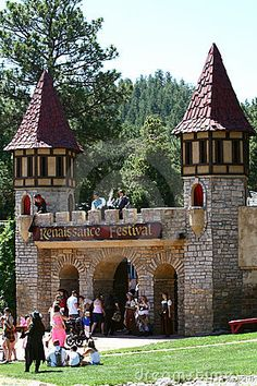 Colorado Renaissance Festival by Bambi L. Dingman, via Dreamstime