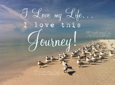 I want to feel this way about my own journey.. it is afterall, a blessing