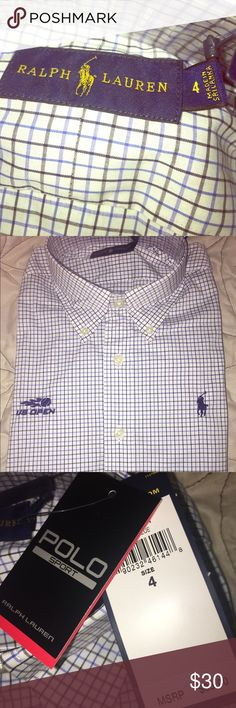 f7ed8af43ae WOMENS RALPH LAUREN POLO SHIRT 👚 BRAND NEW WITH TAGS❗️2016 US OPEN RALPH  LAURN