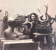Maria Martins (1894-1973), Brazilian sculptor known for her pioneering modernist style