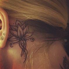 Lotus flower tattoo. New beginnings.