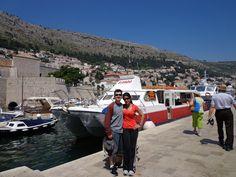 Croatia dubrovnik city entering gate port