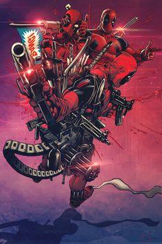 #Deadpool #Fan #Art. (Deadpool) By: Kilareth.