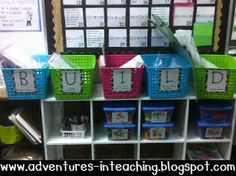 Adventures in Teaching: You've been waiting... now here it is :) MORE about BUILD