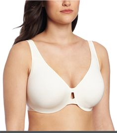 Lilyette Women's Plunge into Comfort Keyhole Minimizer Price: $17.98 – $27.60 & Free Return on some sizes and colors
