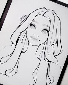 Art Drawings Beautiful, Art Drawings Sketches Simple, Cute Drawings, Fairytale Drawings, Elf Art, Art Corner, Digital Art Tutorial, Photoshop Design, Drawing People