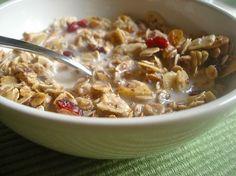 add pomegranate juice to granola