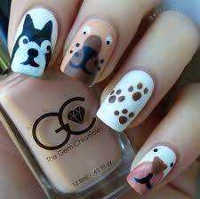 Image result for nail art puppy