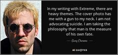 Gary Cherone quote: In my writing with Extreme, there are heavy . Gary Cherone, Nuno Bettencourt, Rock Groups, Latest Albums, Van Halen, Cover Photos, Philosophy, Singer, Writing