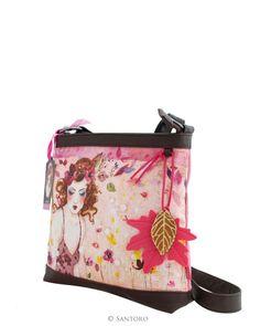 Shoulder Bag - Innocence, Santoro's Willow