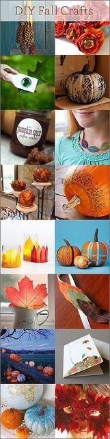 DIY Fall Crafts - Kind Over Matter by Amanda Oaks, via Flickr