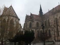 Elizabeth Cathedral in Kosice Barcelona Cathedral, Building, Travel, Voyage, Buildings, Viajes, Traveling, Trips, Construction