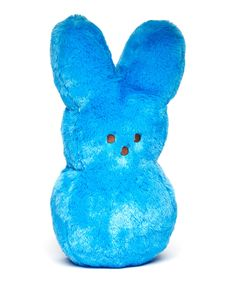 Another great find on #zulily! Blue Peeps Shaggy Bunny Plush Toy by PEEPS® #zulilyfinds