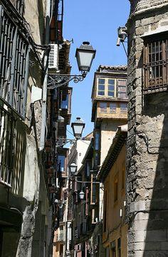 Petite rue dans Tolède (Toledo Spain)